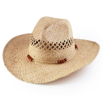 Sombreros Personalizados Natural Al Por Mayor De Paja De Papel c36b414f3b1