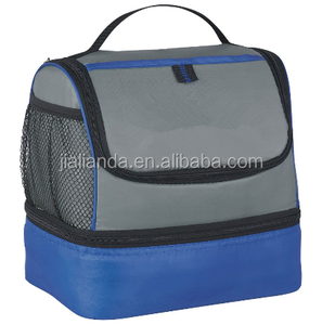 Blue Dual Compartment Lunch Cooler JLD-S0030