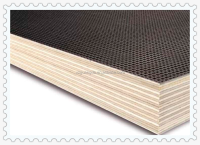 E1 grade plywood prevent slippery container floor laminated plywood
