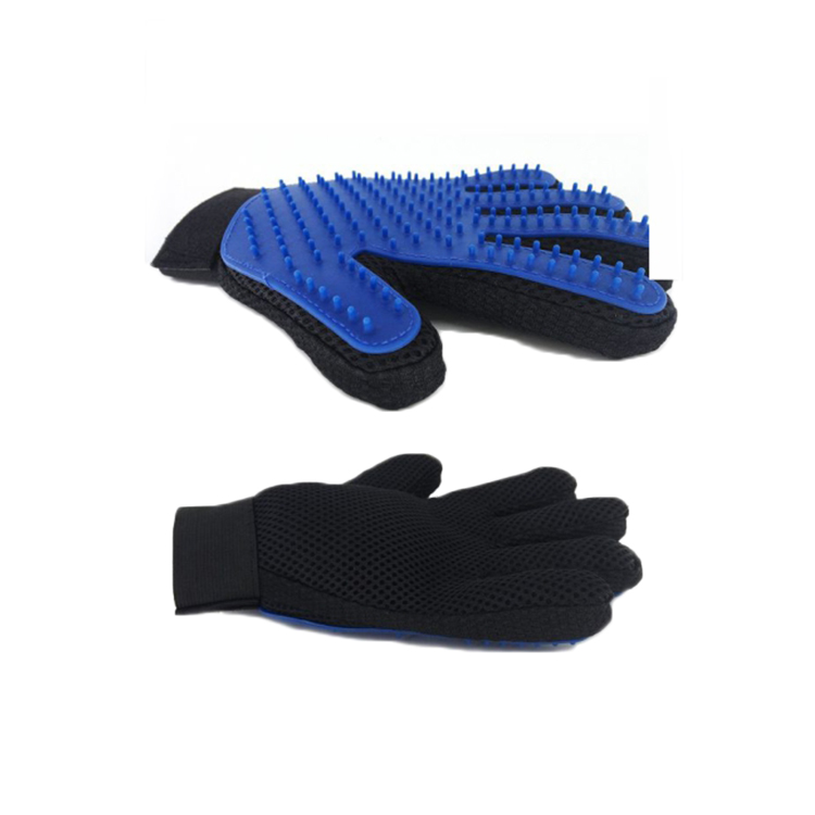 2-in-1 Waterproof Portable hair Pet Grooming Glove