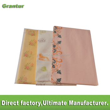 Biodegradable Table Cover Tissue Paper Table Cloth Water Proof Eco