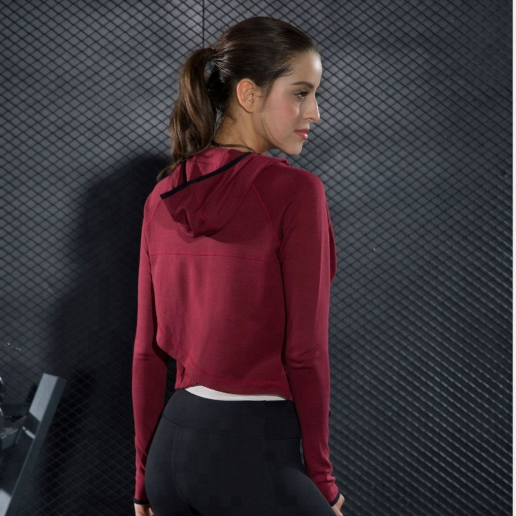 Sportswear YOGA Jacket Gym wear Bodybuilding Women Custom Sport Jacket