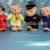 Customized Soft Fabric Fluffy Plush Stuffing Bear toy with Airplay Uniform