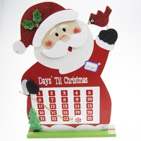 New Arrival Christmas Calendar Santa Claus Christmas Home Party Decoration