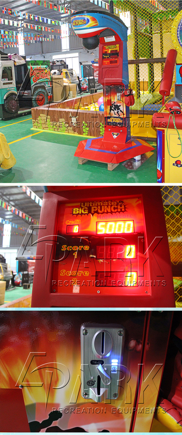 Ultimate Big Punch cheap arcade games for sale  video game machines  coin operated game arcade machine
