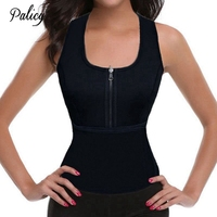 Palicy Sauna sweat women shapers compression bodysuit for Body Shaping