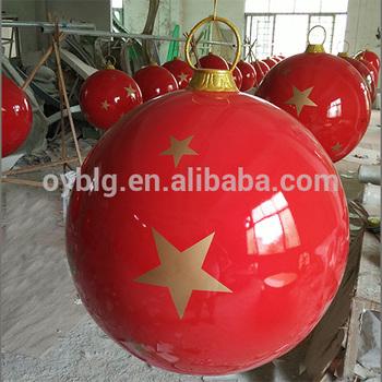 60 220cm Factory Wholesale Customize Giant Fiberglass Ornament Decoration Christmas Ball Buy Giant Christmas Ball Large Outdoor Christmas