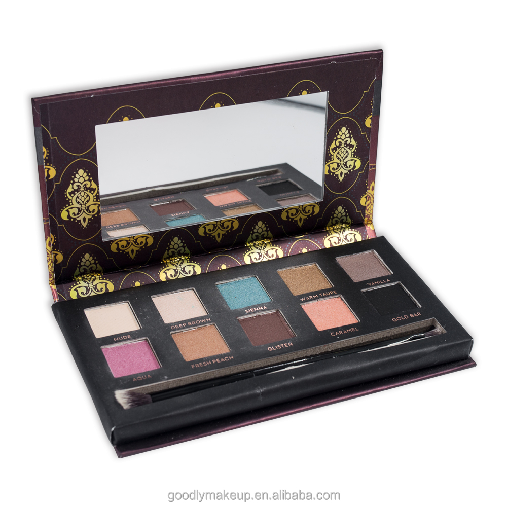 New Brand 10 Color Eyeshadow Private Label Makeup Eyeshadow Beauty Eyeshadow