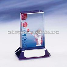 Full Color Cricket Action Scene Trophy MH-J0516