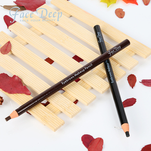 Face Deep Black Color Eyebrows Pencils For Permanent Makeup Or Microblading Design