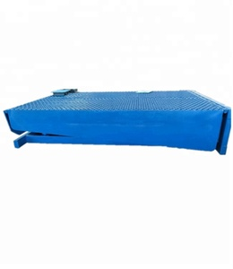 High quality mechanical stationary hydraulic dock ramp manual dock levelers
