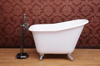 Vasca Da Bagno Piccola In Ghisa : Bambino usato piccoli clawfoot vasca da bagno in ghisa freestanding