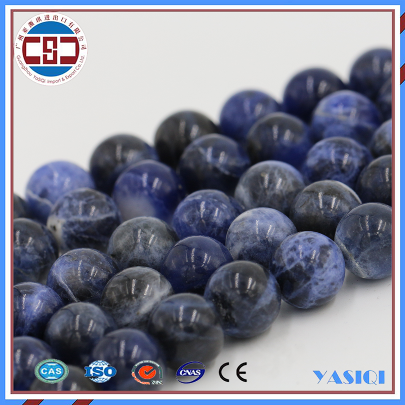 Loose Stone Beads Factory Sodalite Beads String loose bead For Jewelry Making