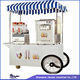 Cheapest Food cart Franchise Business stripes optional ice cream cart