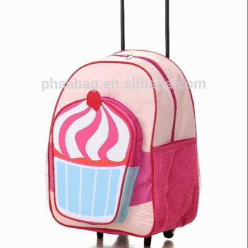 13eef32ef68 Ijs Zak Voor School Rugzak Trolley Rugzak Schooltas Voor Meisje ...
