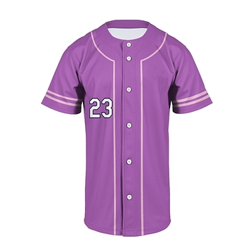 Slionprince 100% polyester custom sublimation digital printing blank baseball jersey