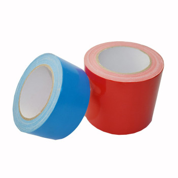 Free sample cloth tape heavy duty single sided colored duct tape