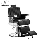 Best selling foldable vintage heavy recliningbarber salon barber chair