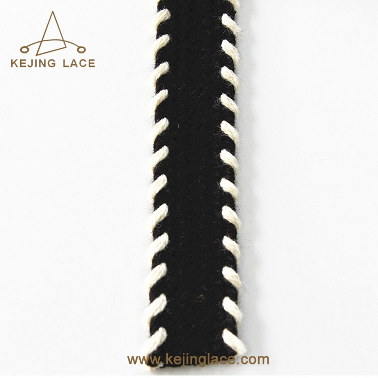 New Arrival Cotton Tape Twisted Cord Trim Webbing