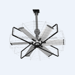 Power Saving DC Ceiling/Wall Mount Electric Large Industrial Fan