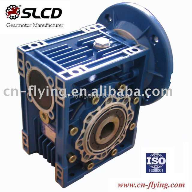 alloy aluminium worm gearbox for eggplant slicing machine