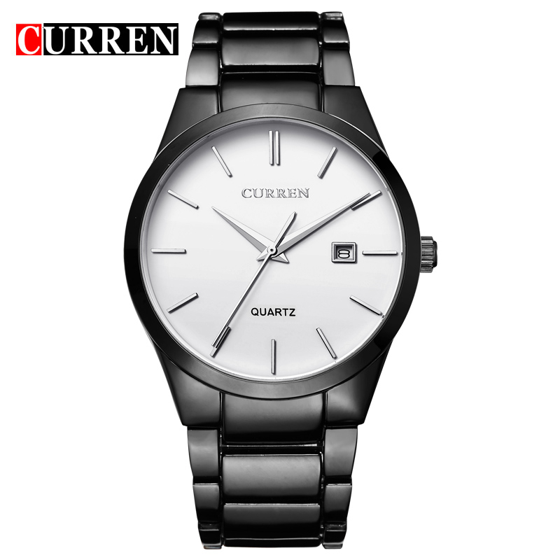 Top Luxury Brand Curren 8106 Men's Wristwatches Japan Movement Date Displaying Fashion Army Watches Men Hot Relojs фото