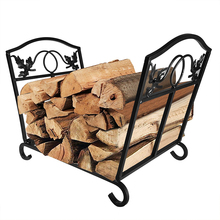 Firewood Storage Carrier for Outdoor Fireplace Log Rack