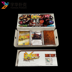 Guangzhou factory custom printing table game with box for party gathering