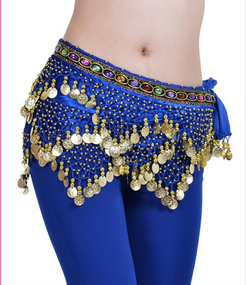 Fashion Sexy Belly Dance Waist Belt With Stocks