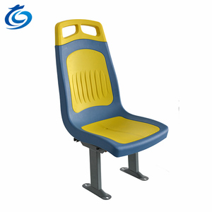 JiuLong D2 Bus Seat With Armrest or AD board Plastic Seat For Bus