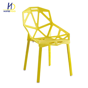 Hot Sale Italian Modern Style Plastic Chair Indoor Sillas Plasticas