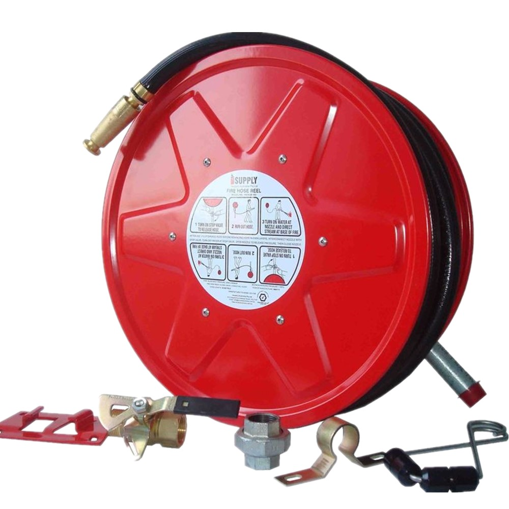Good Price Fire Hose Reel With Sprinkler Flexible nozzle