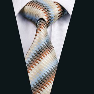 A1008 Cheap Custom Print Woven Colorful Stripes 100% Silk Tie Design Your Own Necktie