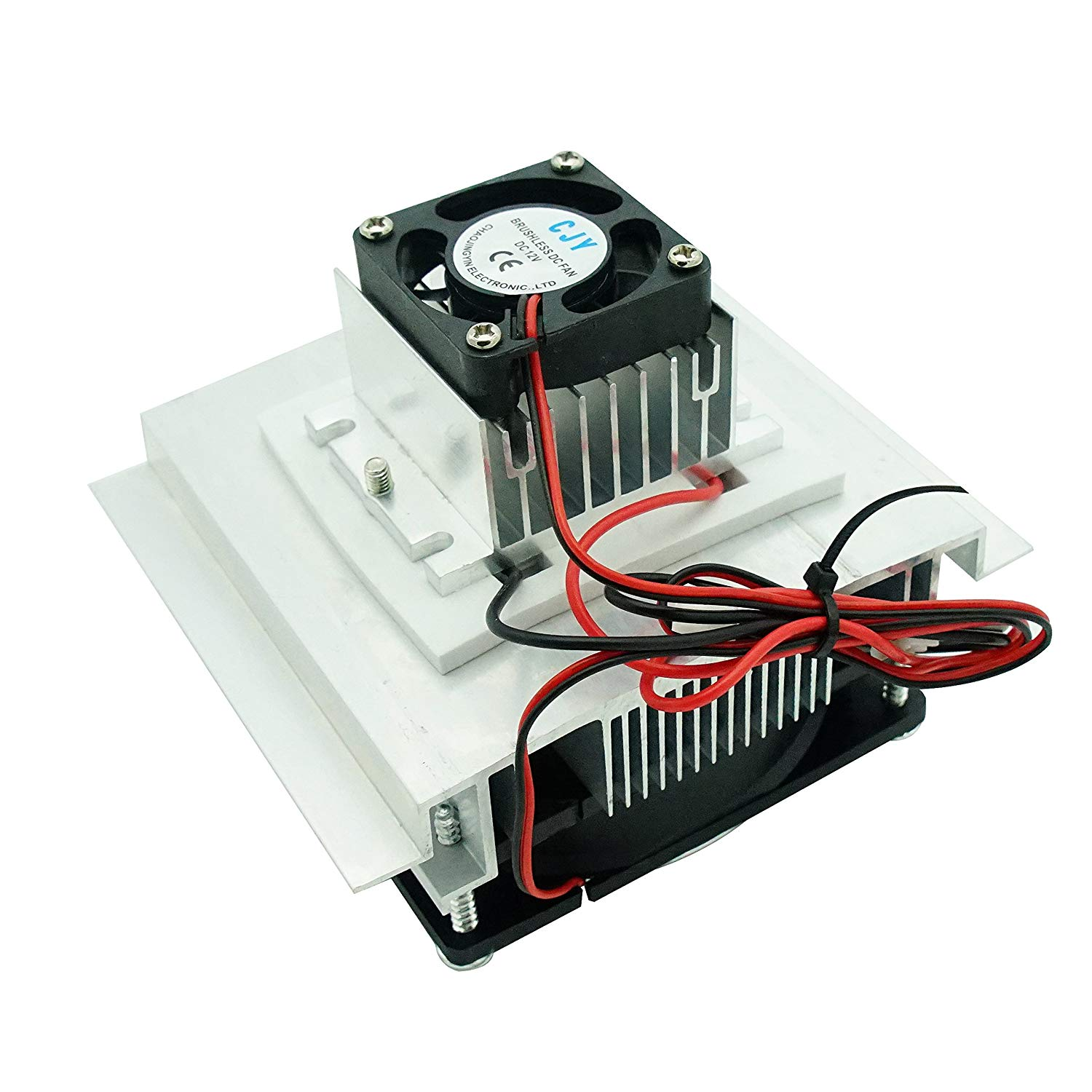 Puuli TEC1-12712 12V 12A 110W 4040mm Thermoelectric Cooler Heatsink Module Cooling Plate