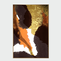 Abstract custom wall art giclee print canvas