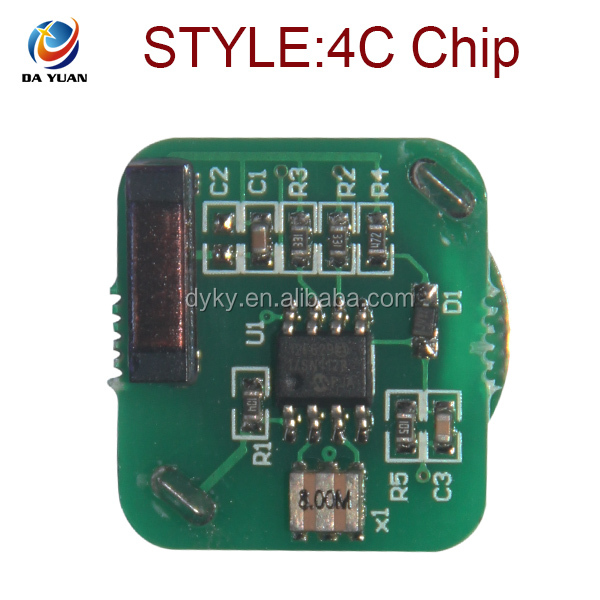 DY120803 Auto Key Chip 4C Copy Clone Chip for Toyota