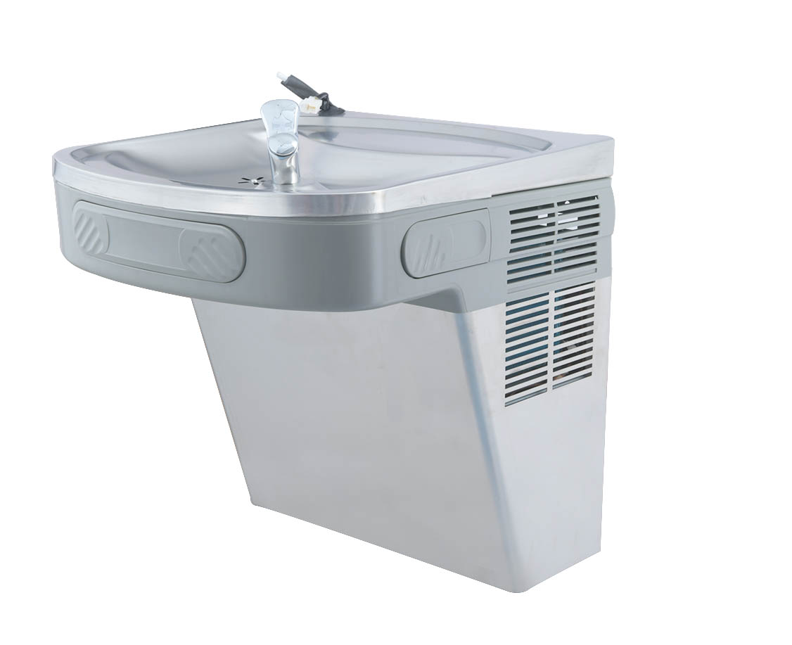 Wall mounted RO drinking fountain, water cooler drinking fountain