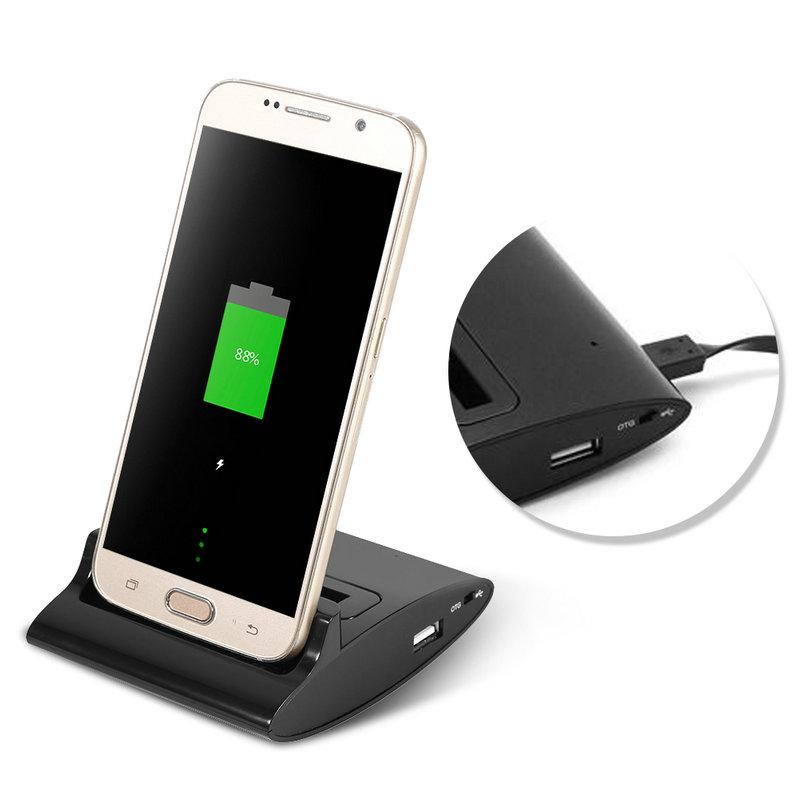 Doble Sincronización Cargador De Batería Cuna Para Samsung Galaxy S3 I9300 S4 I9500 Nota 4 Otg Estación Dock Adaptador De Cargador Buy Cargador Del