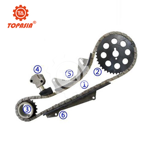 TOPASIA Timing Chain Kit for NISSAN ATLAS NAVARA NA16 SOHC 8V 1 6L 92-99