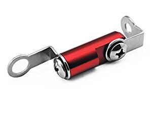 Red Universal CNC Motorcycle Billet Fluid Reservoir Racing Bracket Front Brake Clutch Master Cylinder Bracket Fit For Honda CBR954RR 2002-2003