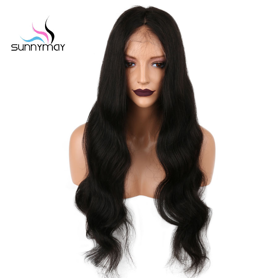 Pre Plucked Full Lace Human Hair Wigs With Baby Hair Remy Brazilian Wigs For Black Women Bleached Knots Natual Wave Wigs фото