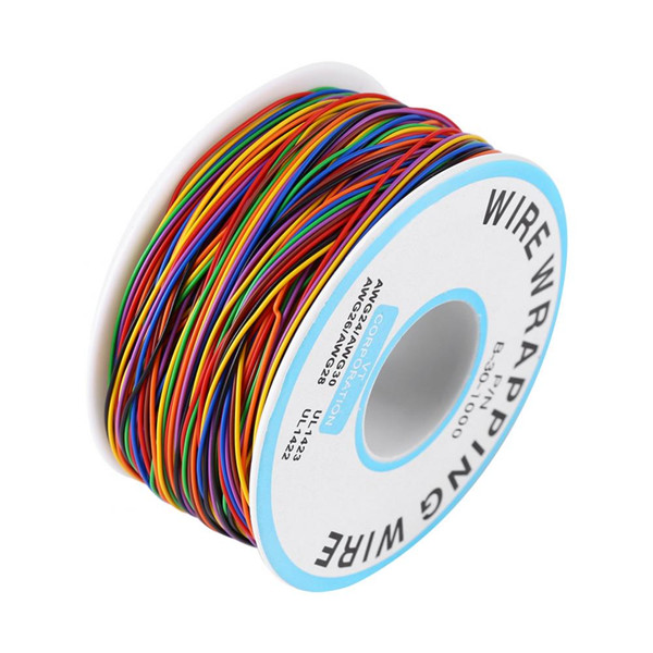 Cable el/éctrico colorido P//N B-30-1000 280M Cable de prueba de cobre de envoltura de aislamiento de 8 hilos de color