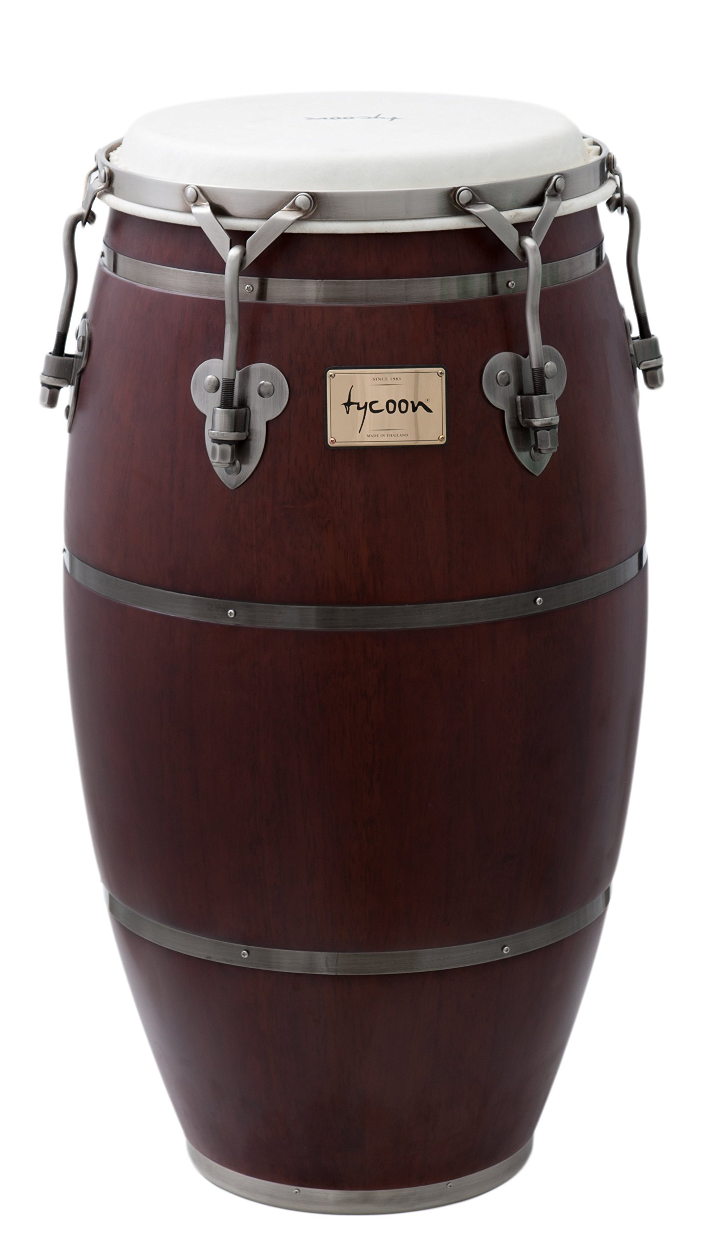 Single Drum With Single Stand Tycoon Percussion 11-Inch Signature Classic Series Blue Quinto