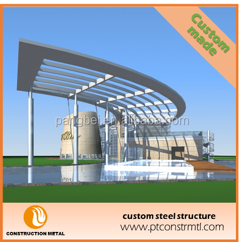 Customized special-shaped steel structure