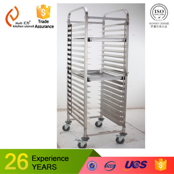 Tray Trolley Restaurant Stainless Steel Bakery Trolleycake And