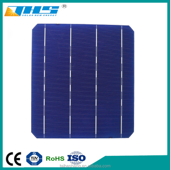 High Efficiency Monocrystalline Silicon Solar Cell 156x156 With Factory  Price - Buy Monocrystalline Silicon Solar Cell Price,Monocrystalline Solar