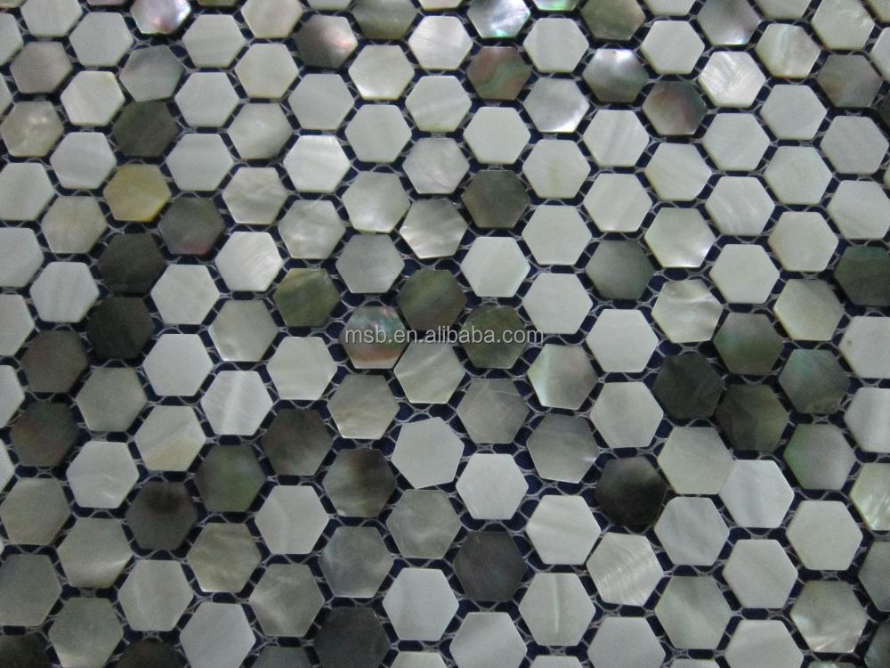 mx021s mixed hexagon s wasser mop shell mosaik und schwarz perlmutt fliesen mosaik produkt id. Black Bedroom Furniture Sets. Home Design Ideas