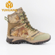 Outdoor waterproof men's hunting shoes, CamoJungle marching boots