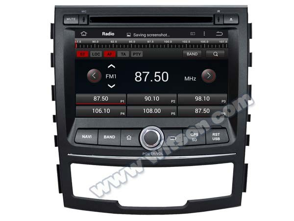 WITSON ANDROID 4.4 FOR SSANGYONG KORANDO CAR RADIO WITH 1.6GHZ FREQUENCY DVR SUPPORT WIFI APE MUSIC