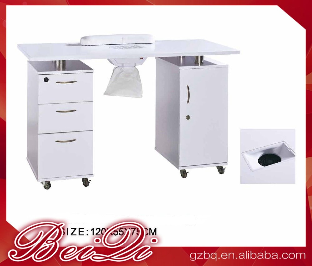 Manicure Nail Station Manicure Table Vacuum And Nail Salon Furniture ...